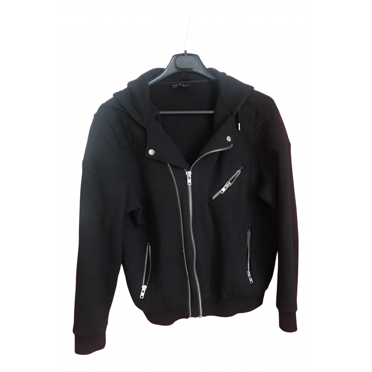 The Kooples N Black Cotton jacket  for Men M International