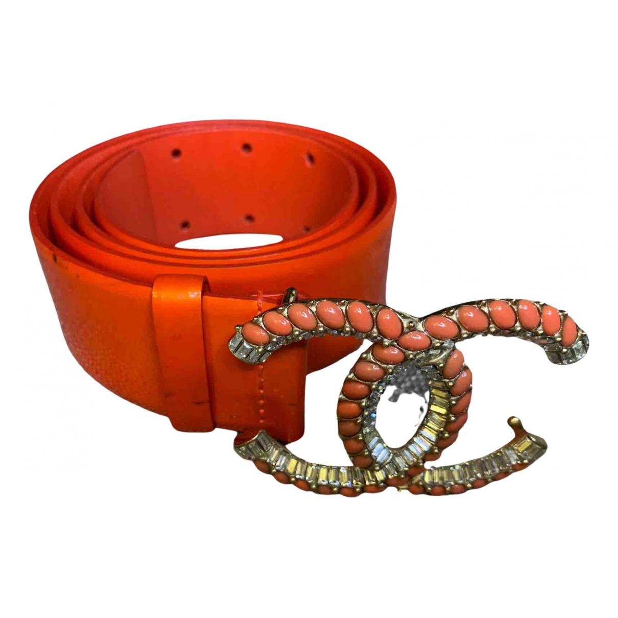 Cinturon de Charol Chanel