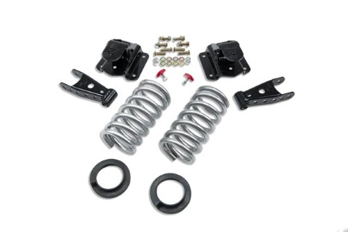 Belltech 814 2-3inch Front 4inch Rear Lowering Kit w/o Shocks Dodge Ram 1500 Std Cab Auto 1994-1999
