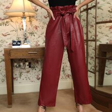 Pantalones Cremallera Liso Glamour