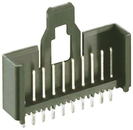 Lumberg , Minimodul, 12 Way, 1 Row, Straight PCB Header (10)