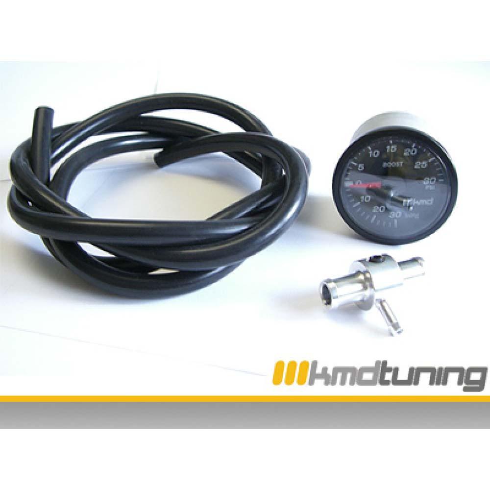 KMD Tuning 05010 52mm Boost Gauge VW Blue Volkswagen Passat B5 98-05