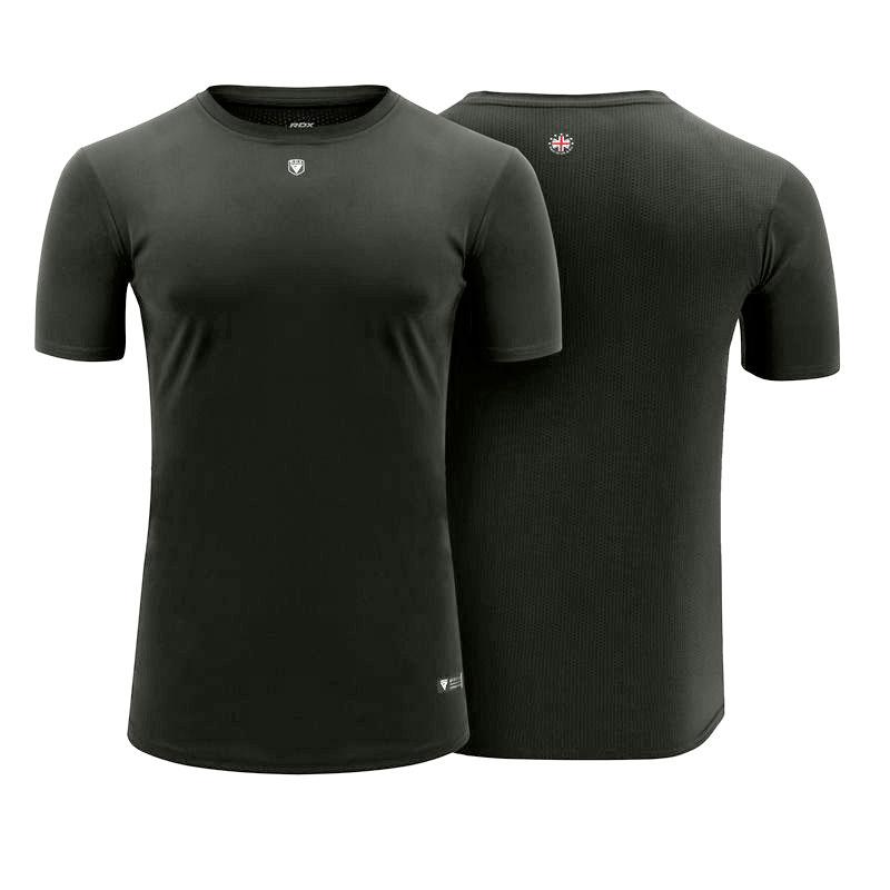 Gratuite RDX T-shirt Stringer Et Gilet X Grande Gris Polyester