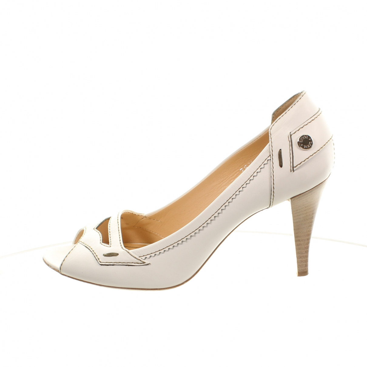 Tods \N Pumps in  Weiss Leder