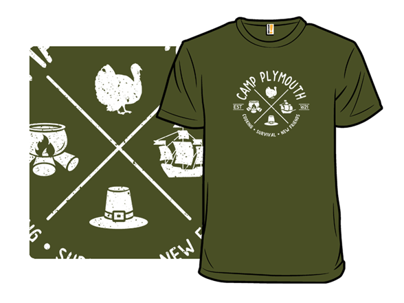 Camp Plymouth T Shirt