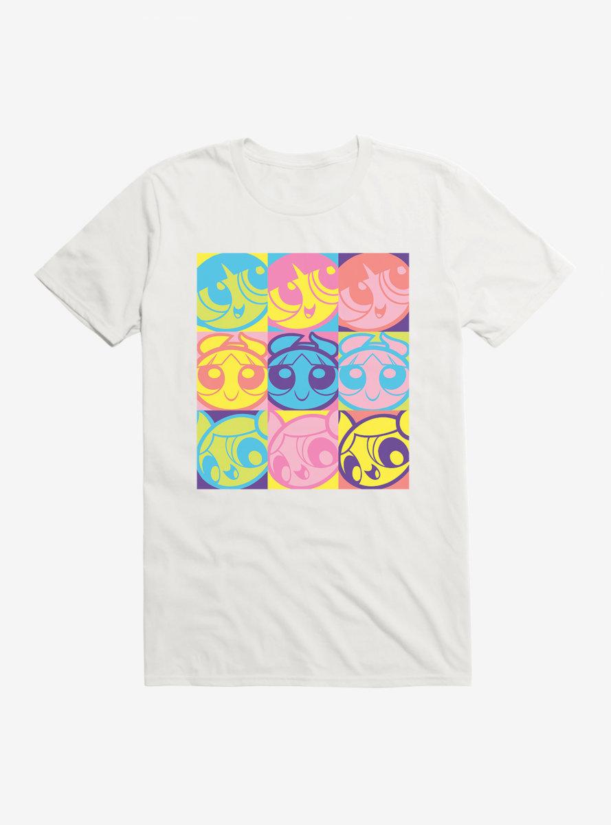 The Powerpuff Girls Square Poses T-Shirt