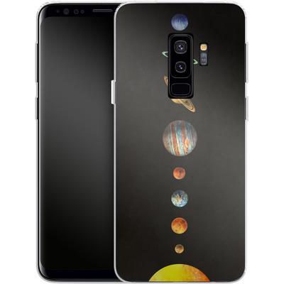 Samsung Galaxy S9 Plus Silikon Handyhuelle - Solar System von Terry Fan