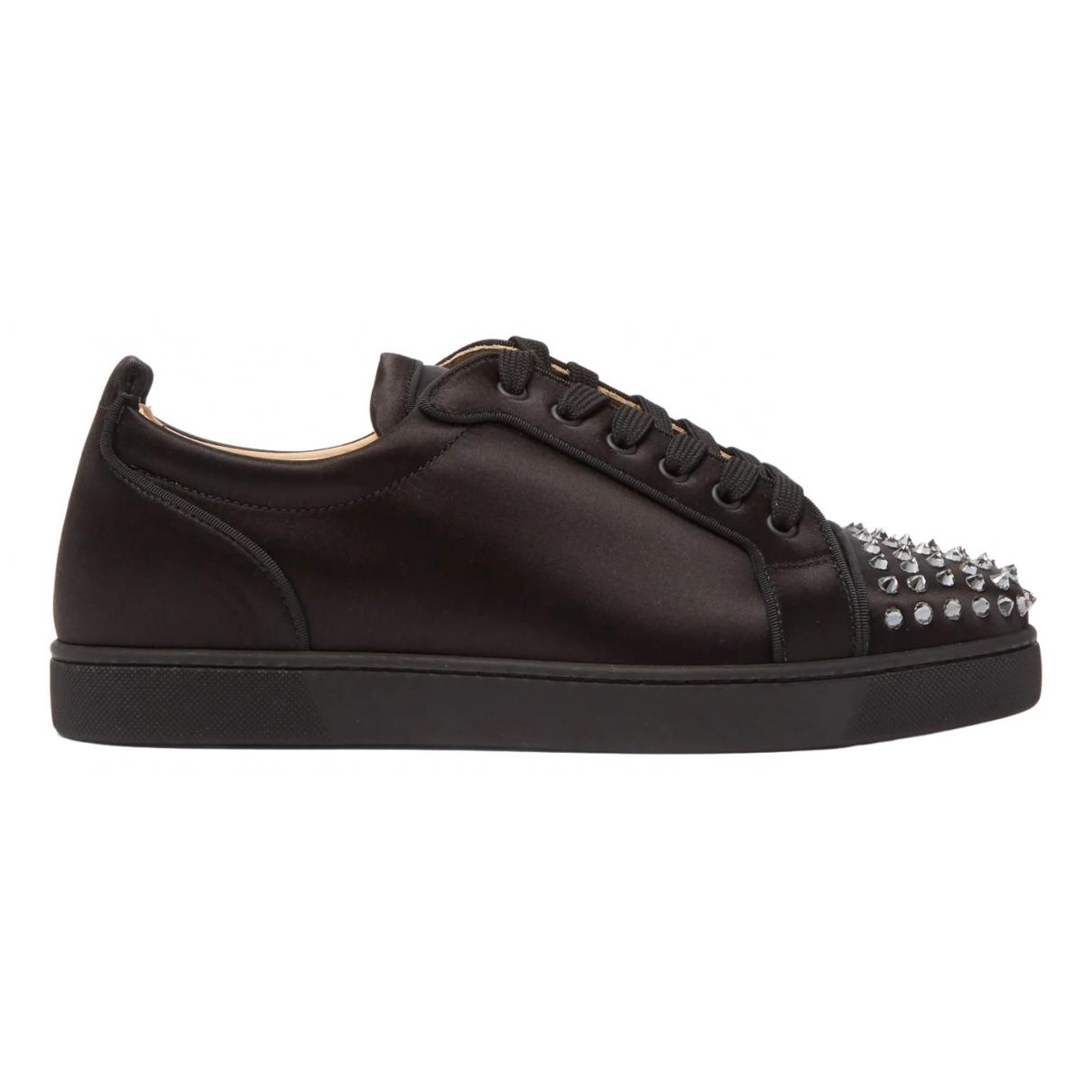 Christian Louboutin \N Sneakers in  Schwarz Leder