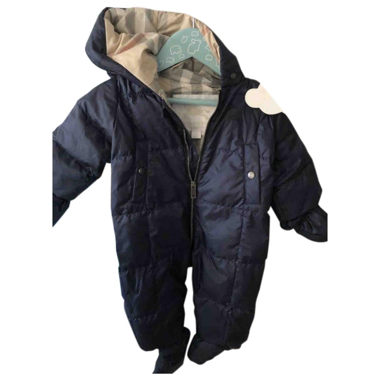Burberry - Blousons.Manteaux   pour enfant - marine