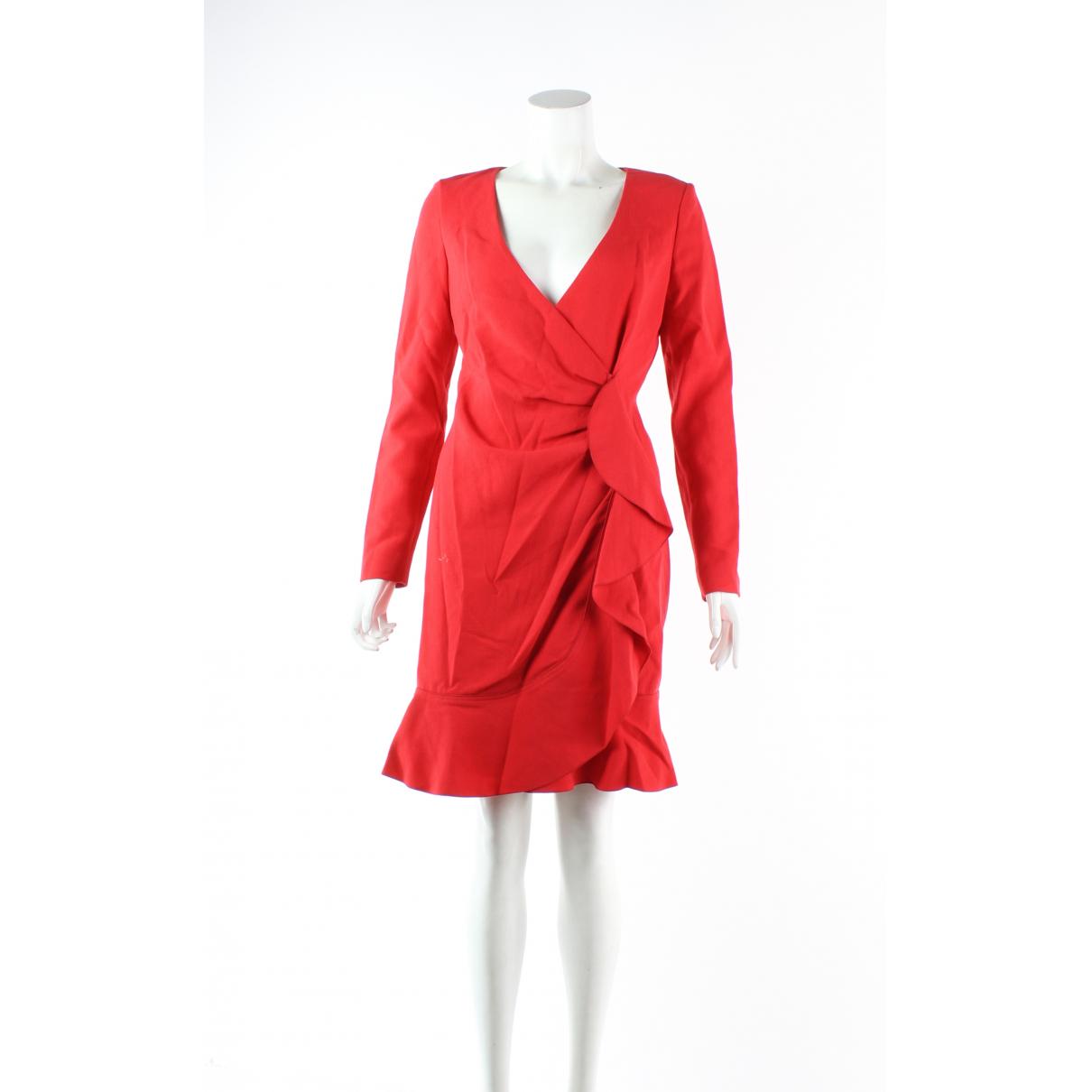 Emilio Pucci - Robe   pour femme en laine - rouge