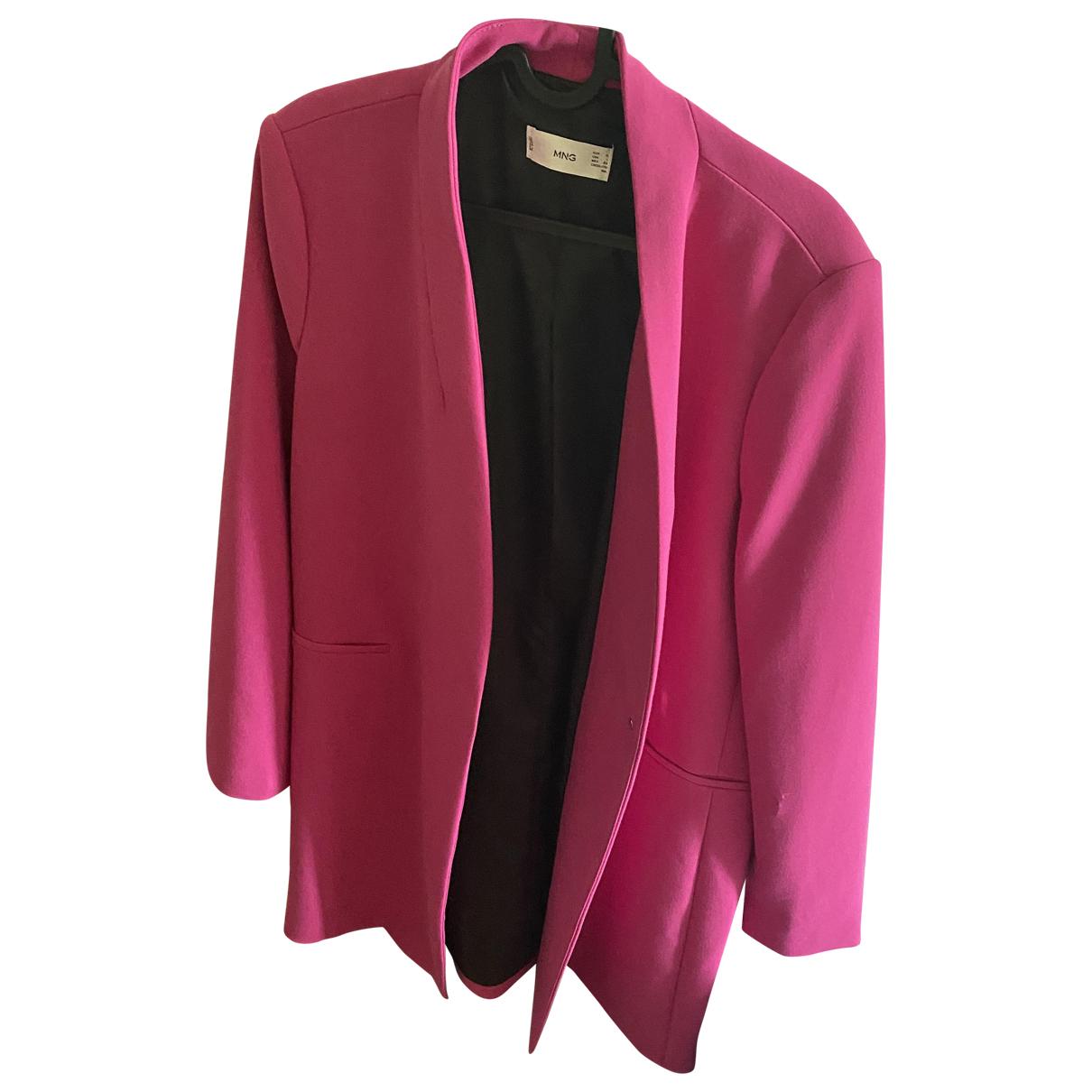 Mango - Manteau   pour femme - rose