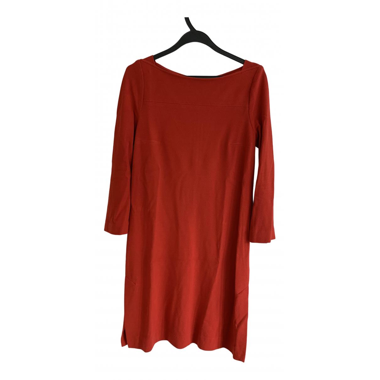 Marc Cain \N Kleid in  Rot Kaschmir