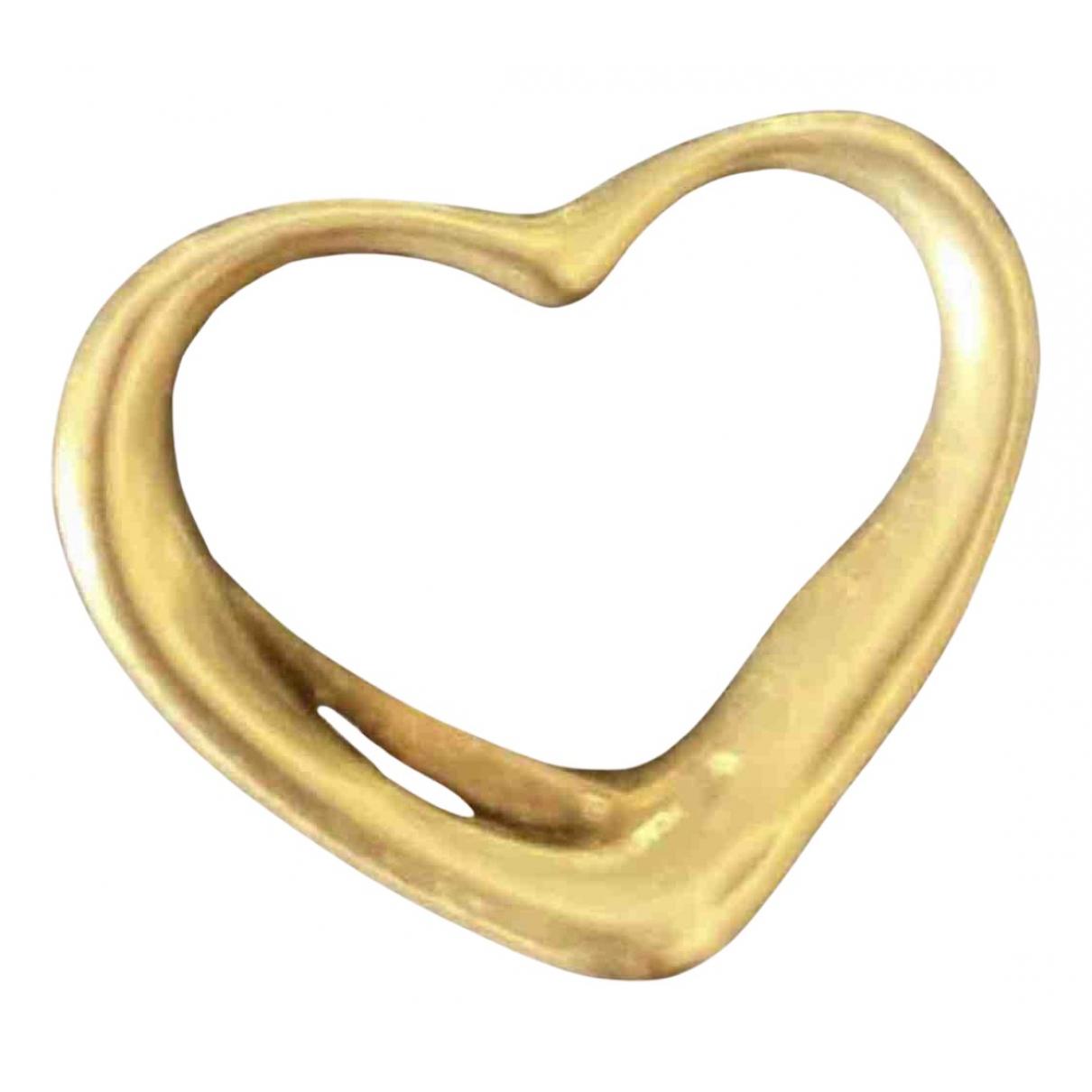 Colgante Elsa Peretti  de Oro amarillo Tiffany & Co