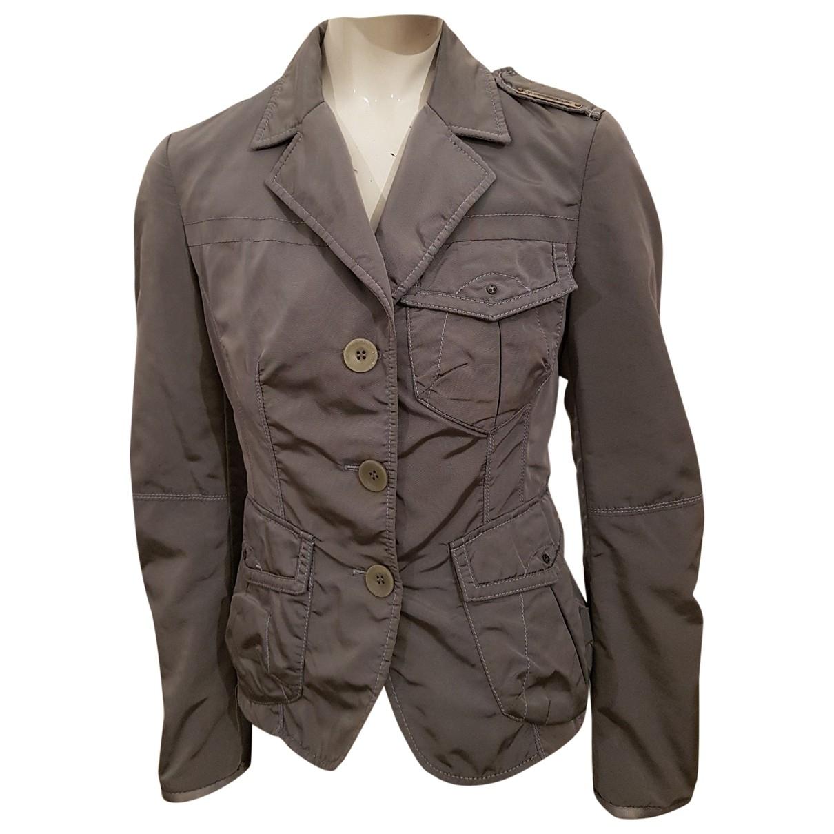 Peuterey - Veste   pour femme en coton - gris