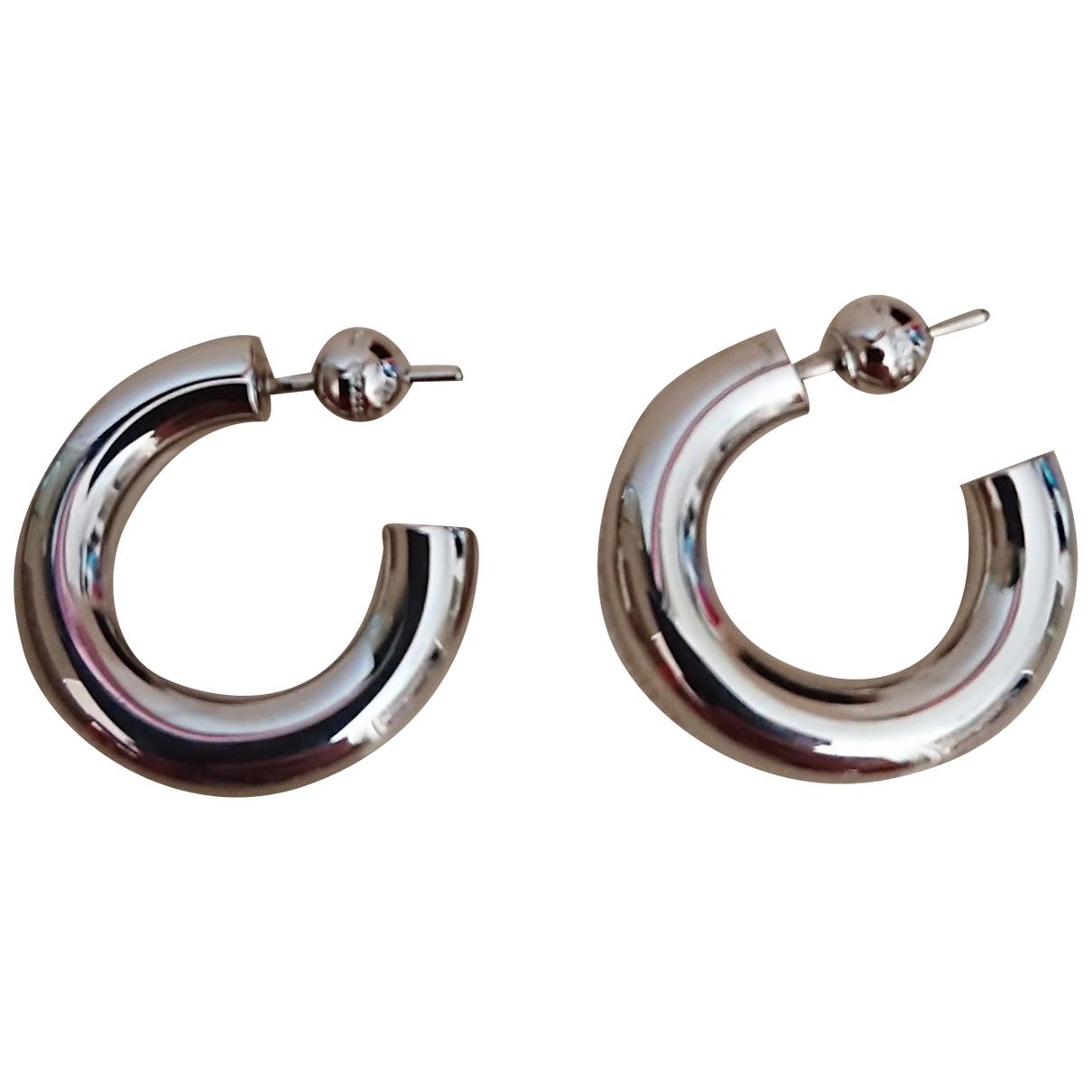 Burberry - Boucles doreilles   pour femme en metal - argente