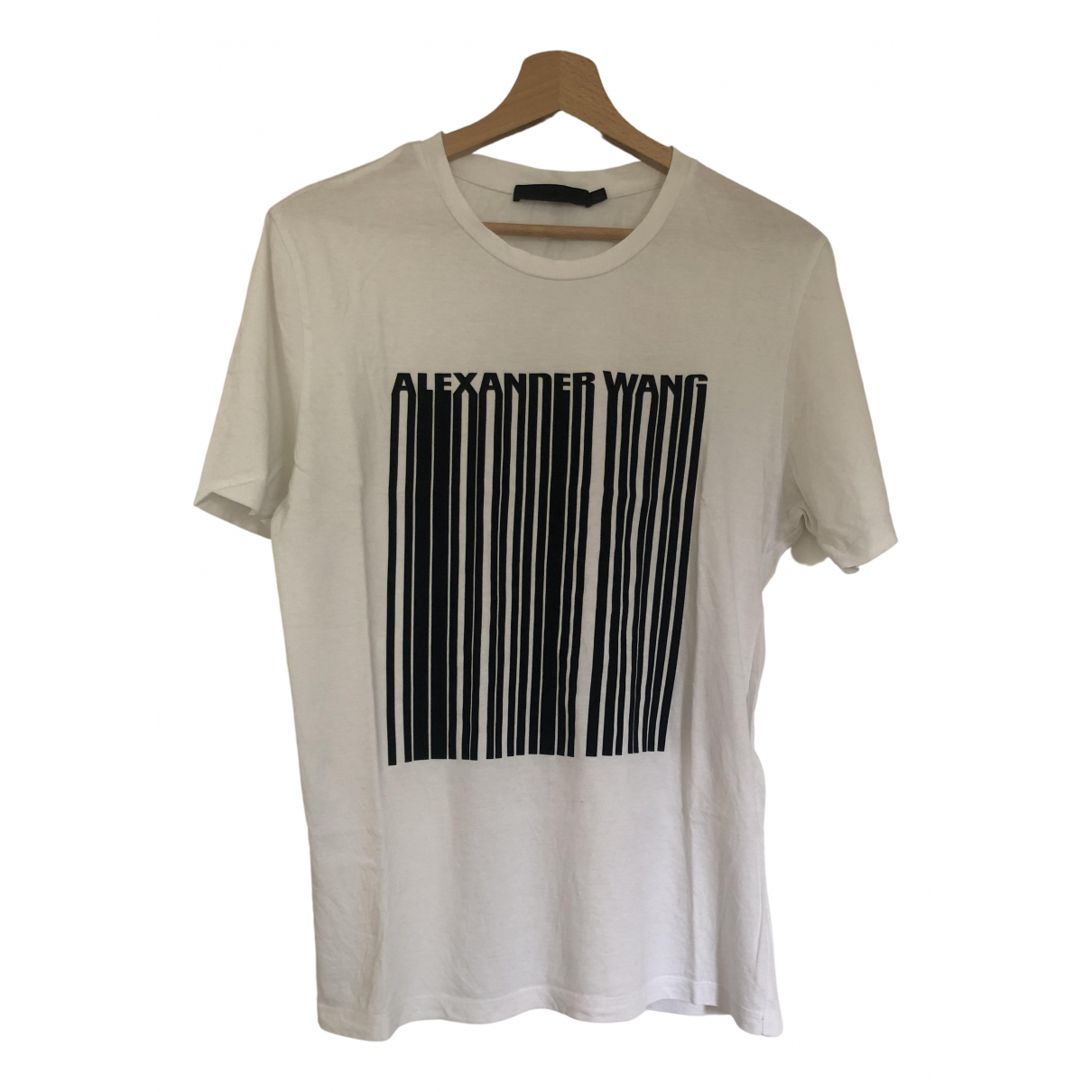 Alexander Wang \N White Cotton T-shirts for Men S International