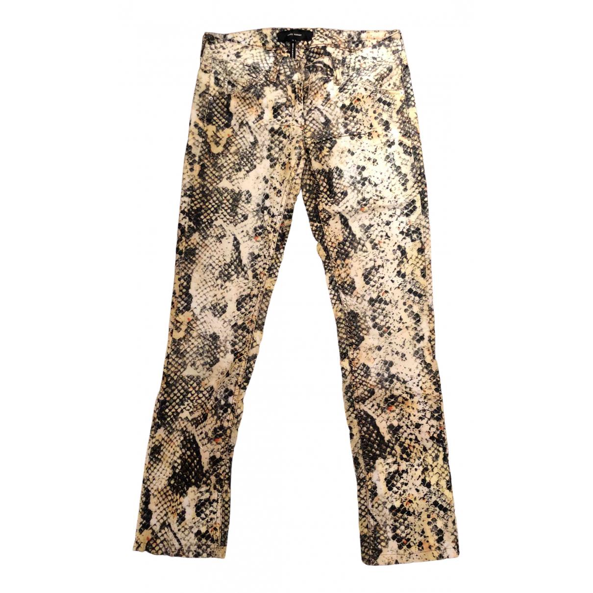 Isabel Marant \N Multicolour Cotton Jeans for Women 36 FR