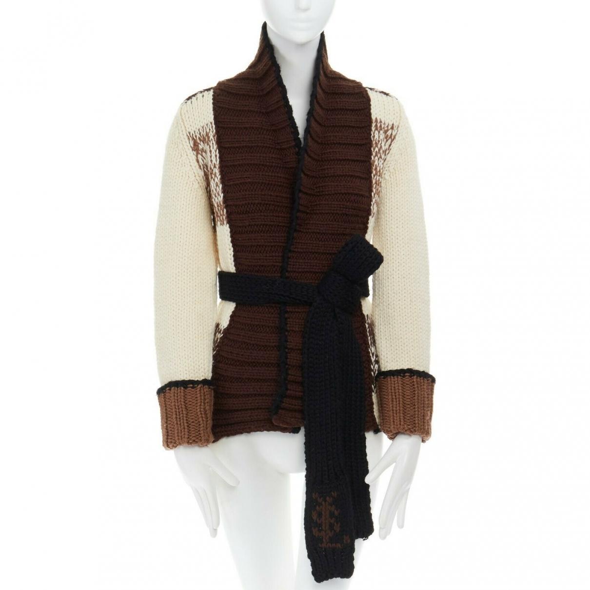 Yves Saint Laurent \N Brown Wool Knitwear for Women S International