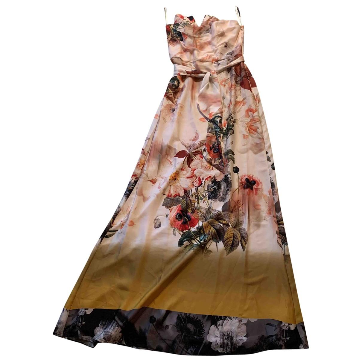Ted Baker \N Pink Cotton - elasthane dress for Women 1 0-5