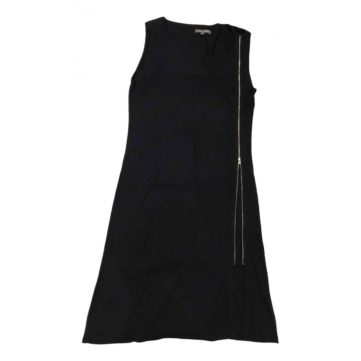 Non Signé / Unsigned \N Blue Silk dress for Women S International