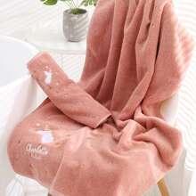 1pc Unicorn Pattern Bath Towel