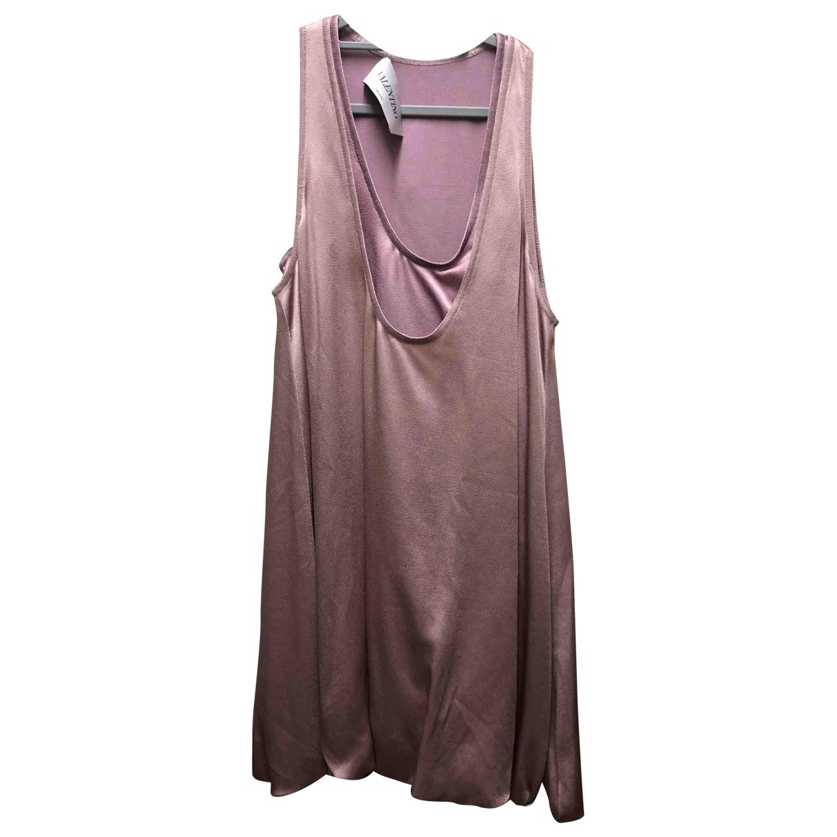 Valentino Garavani - Robe   pour femme en soie - rose