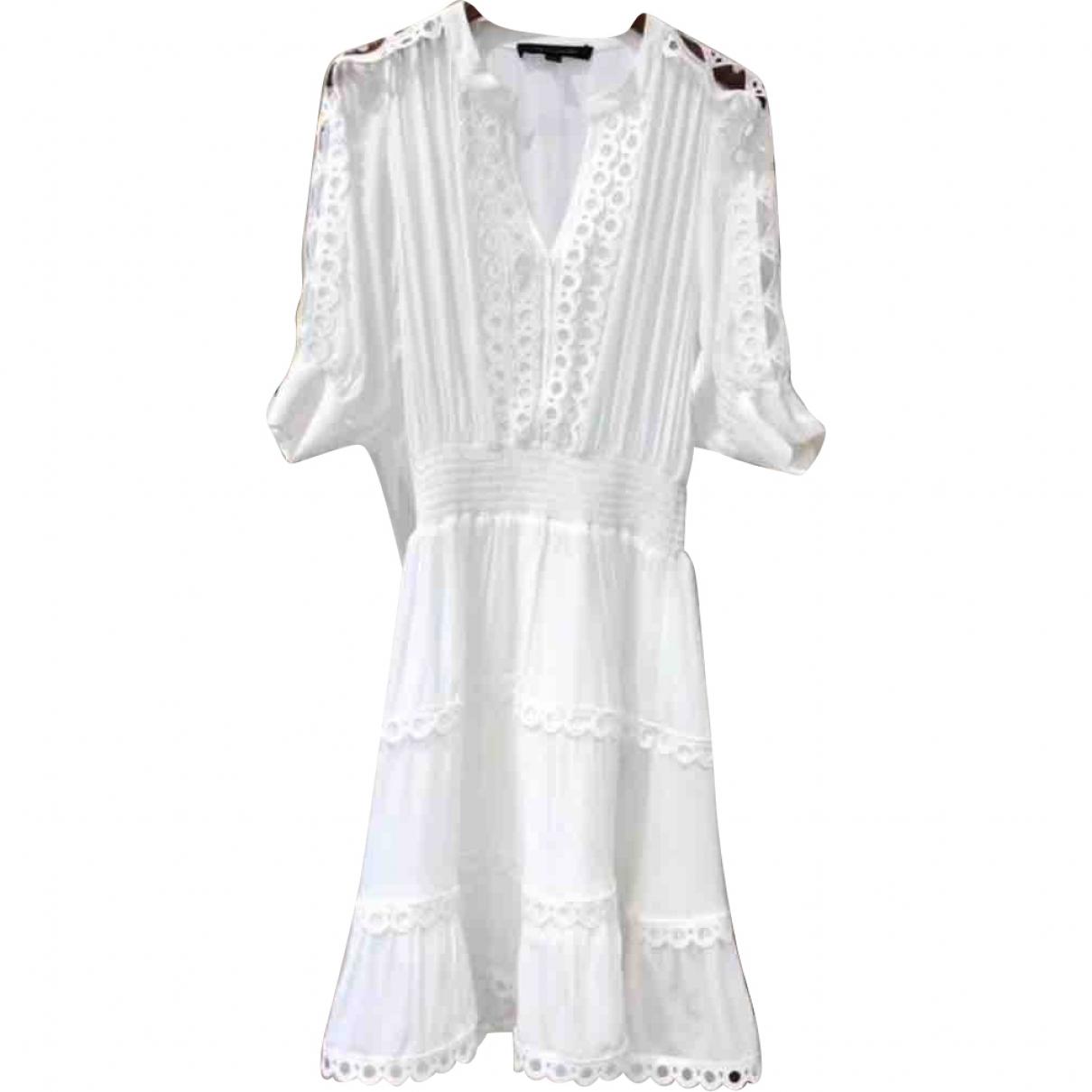 Marc Jacobs \N Kleid in  Weiss Baumwolle
