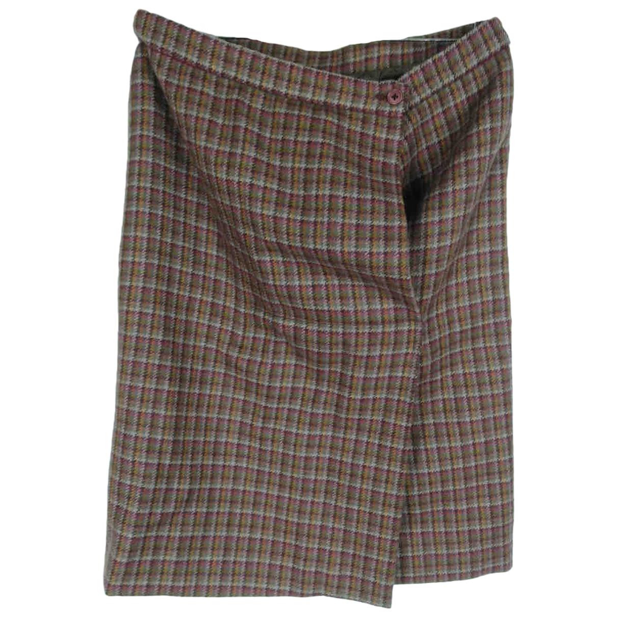 Dior N Multicolour Wool skirt for Women 46 IT