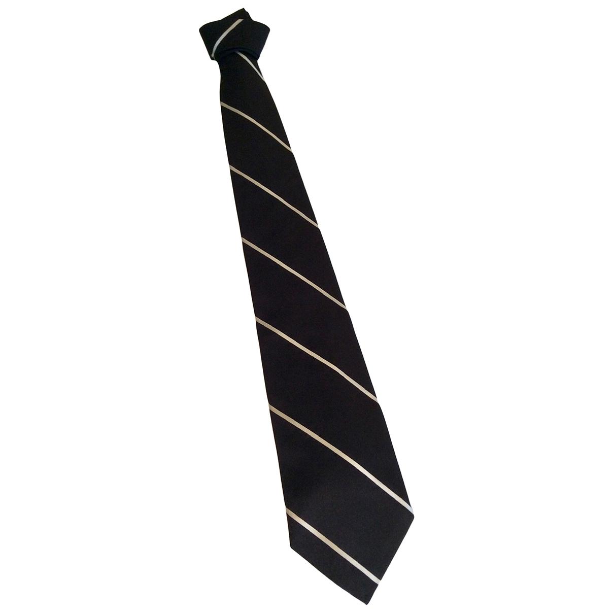 Polo Ralph Lauren - Cravates   pour homme en soie - noir