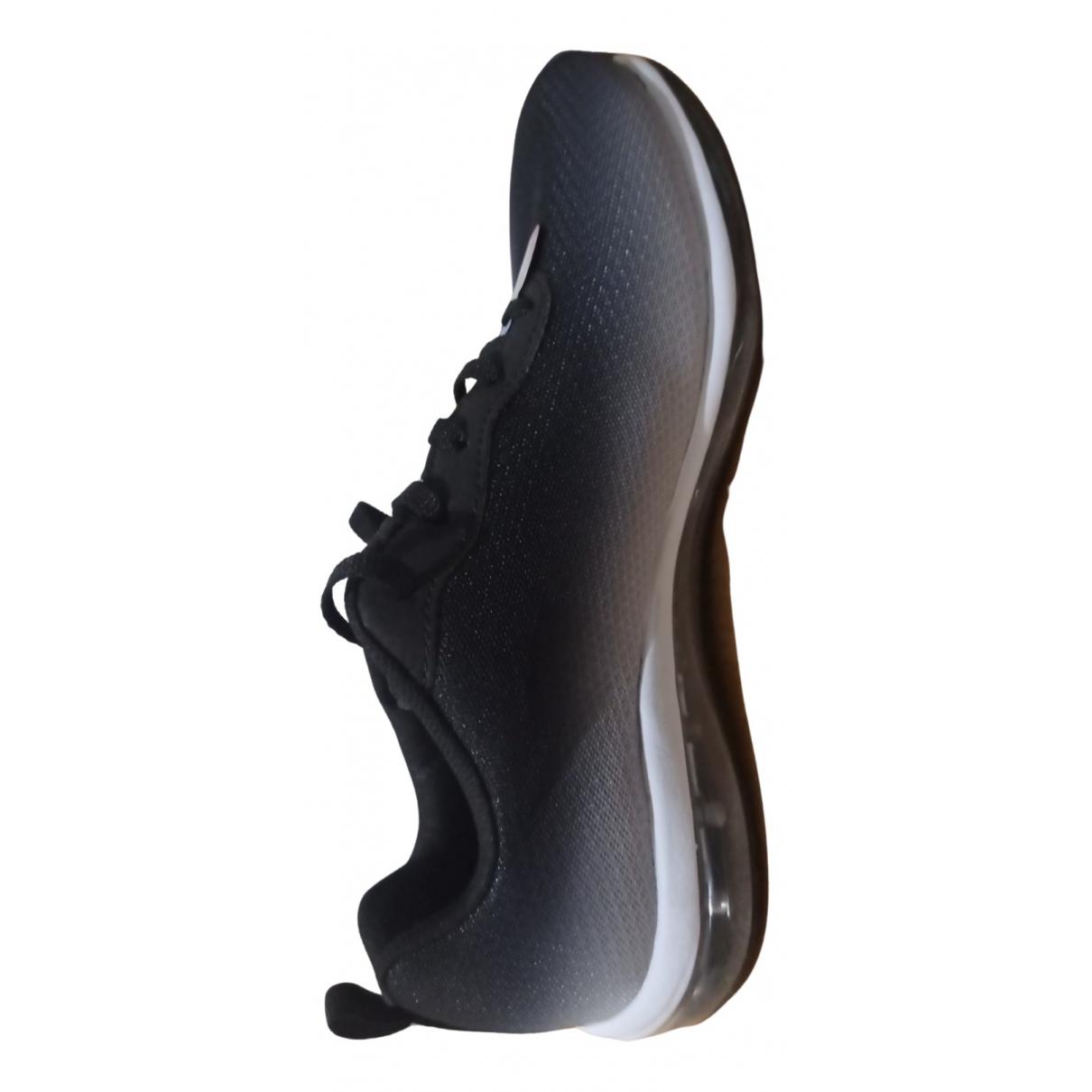 Skechers \N Sneakers in  Metallic Leinen