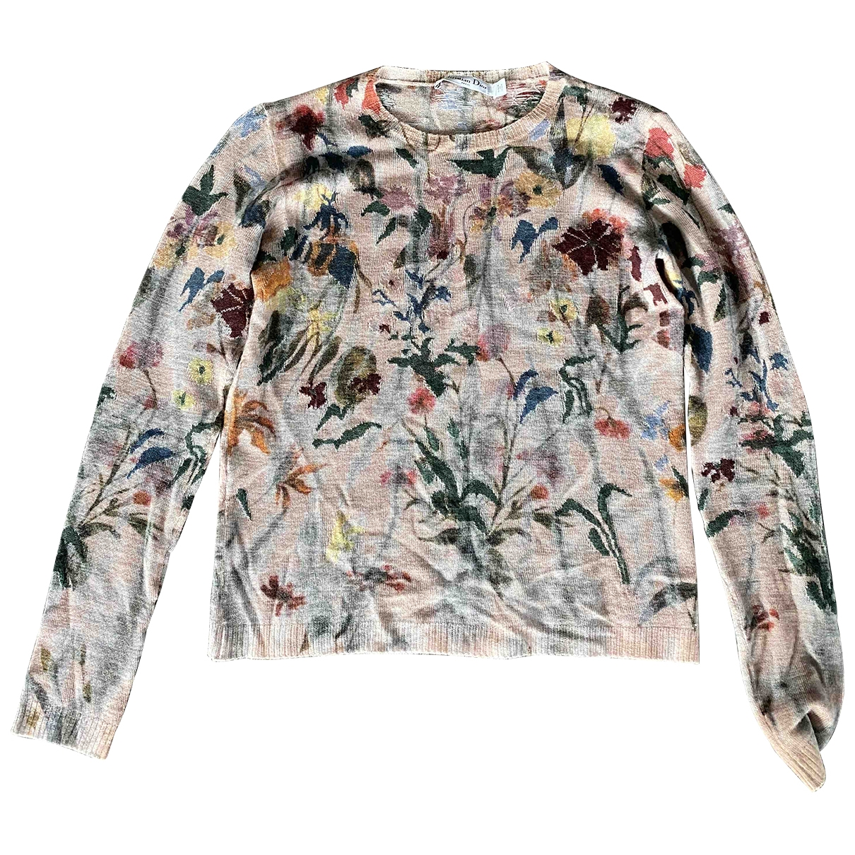 Dior \N Multicolour Cashmere Knitwear for Women 40 FR
