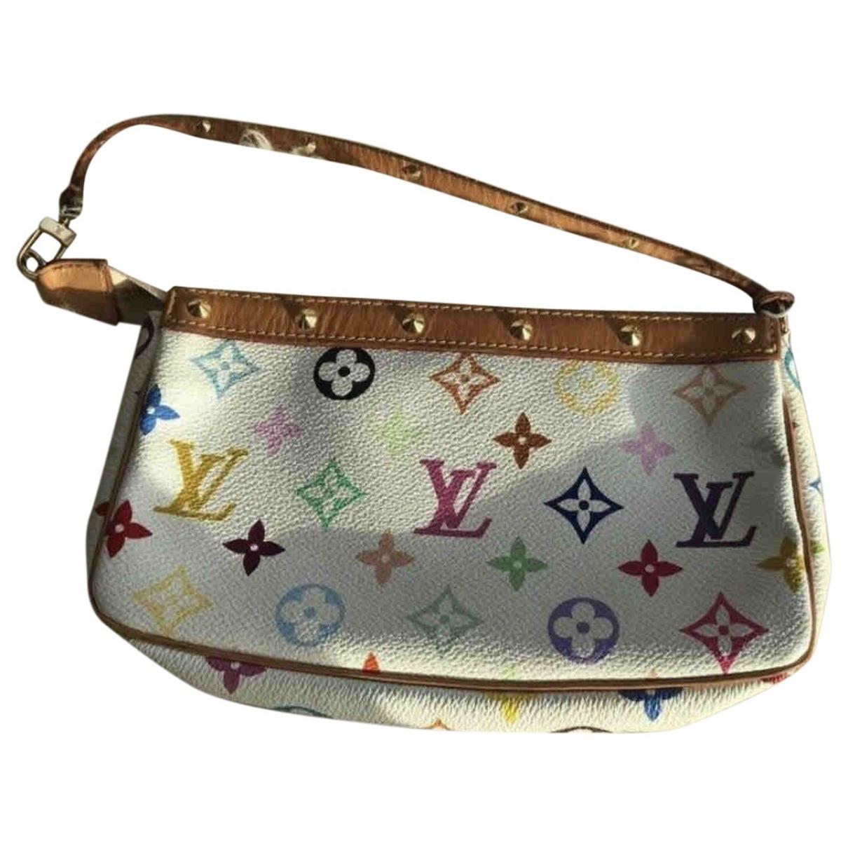 Louis Vuitton Pochette Accessoire Multicolour Cloth Clutch bag for Women \N