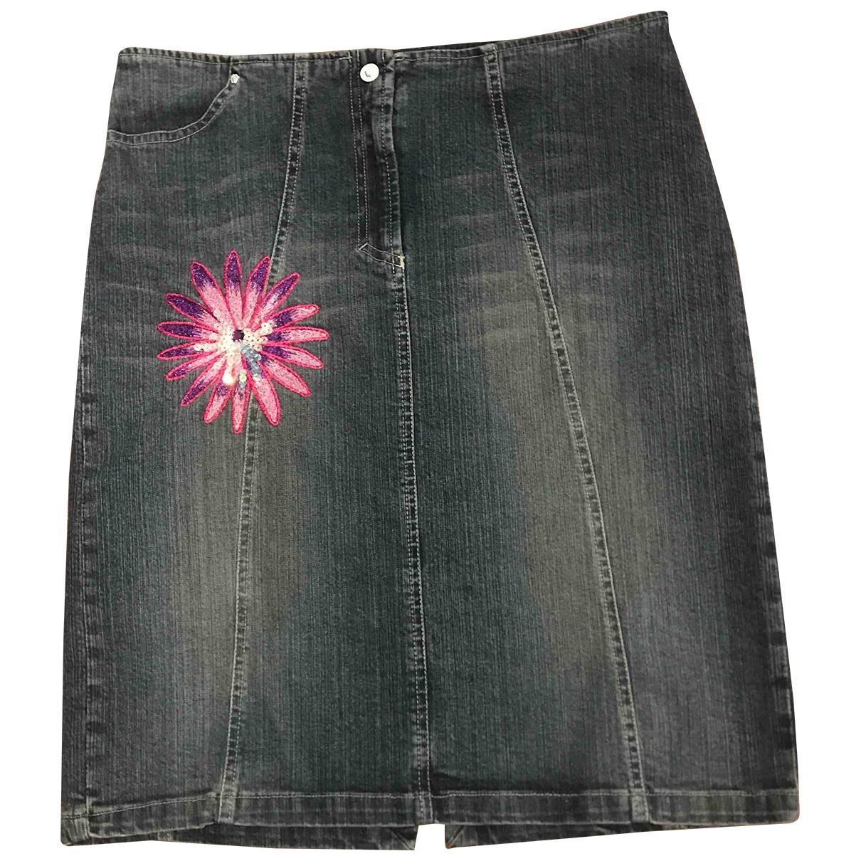 Falda midi Versace Jeans