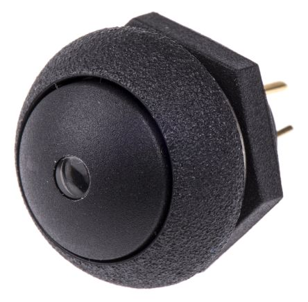 Otto Single Pole Double Throw (SPDT) Momentary Green LED Push Button Switch, IP68S, Panel Mount, 28V dc