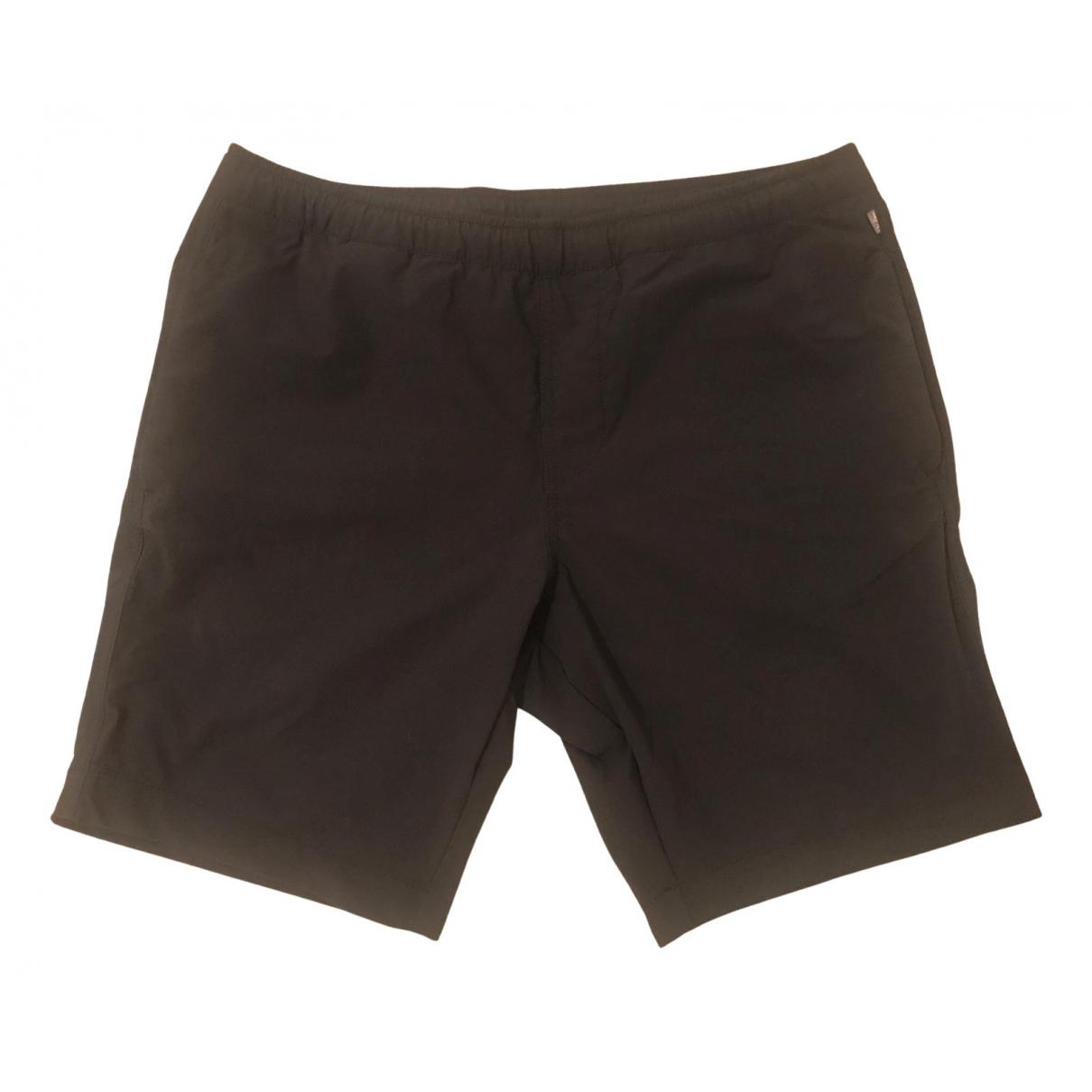 Napapijri \N Shorts in  Schwarz Synthetik
