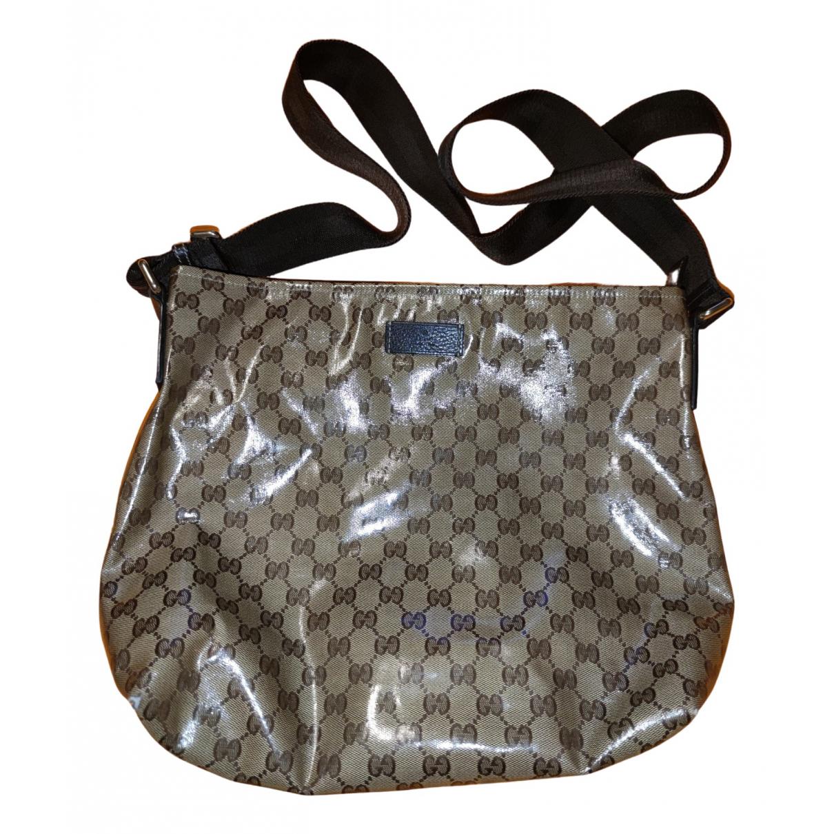 Gucci \N Beige bag for Men \N
