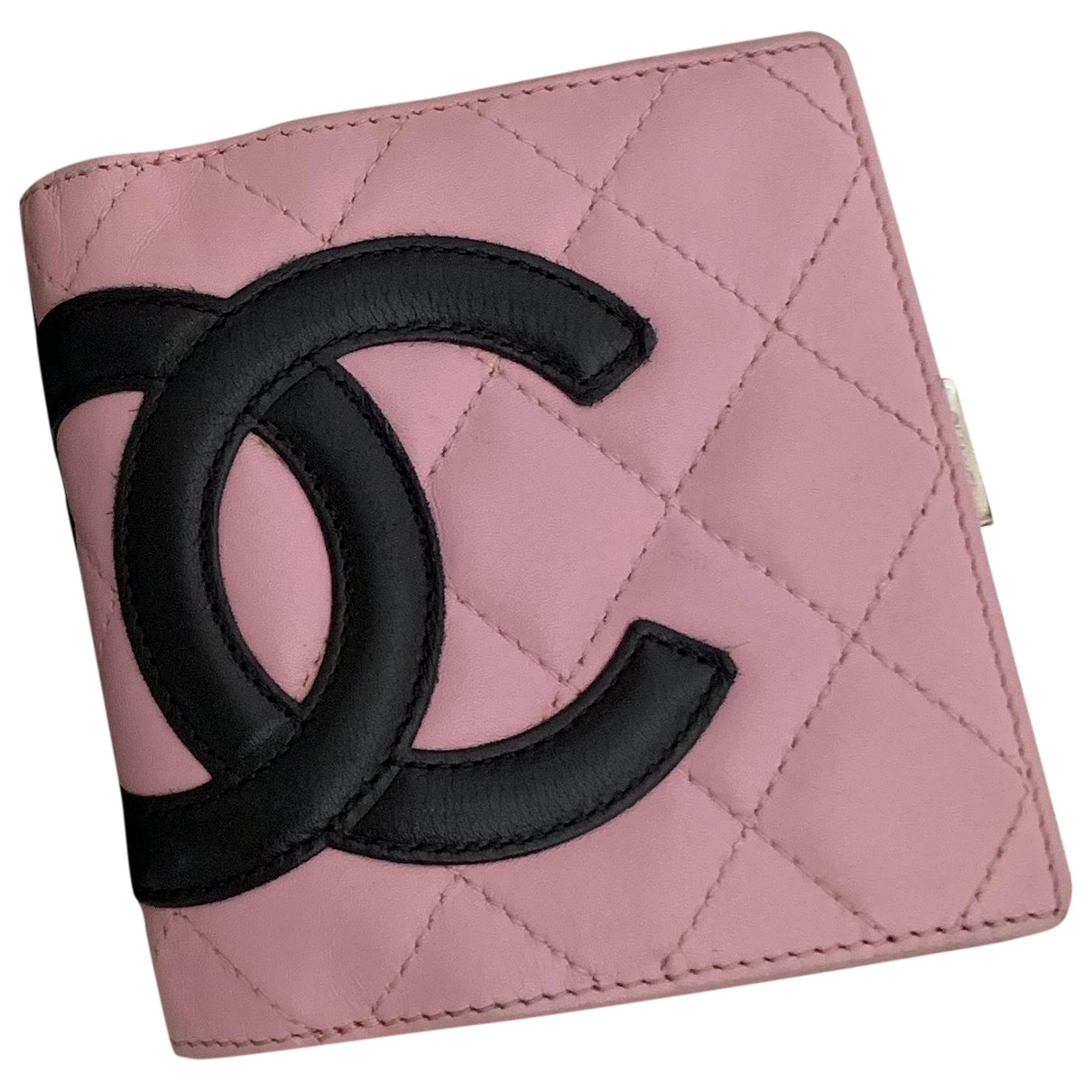 Chanel Cambon Pink Leather wallet for Women \N