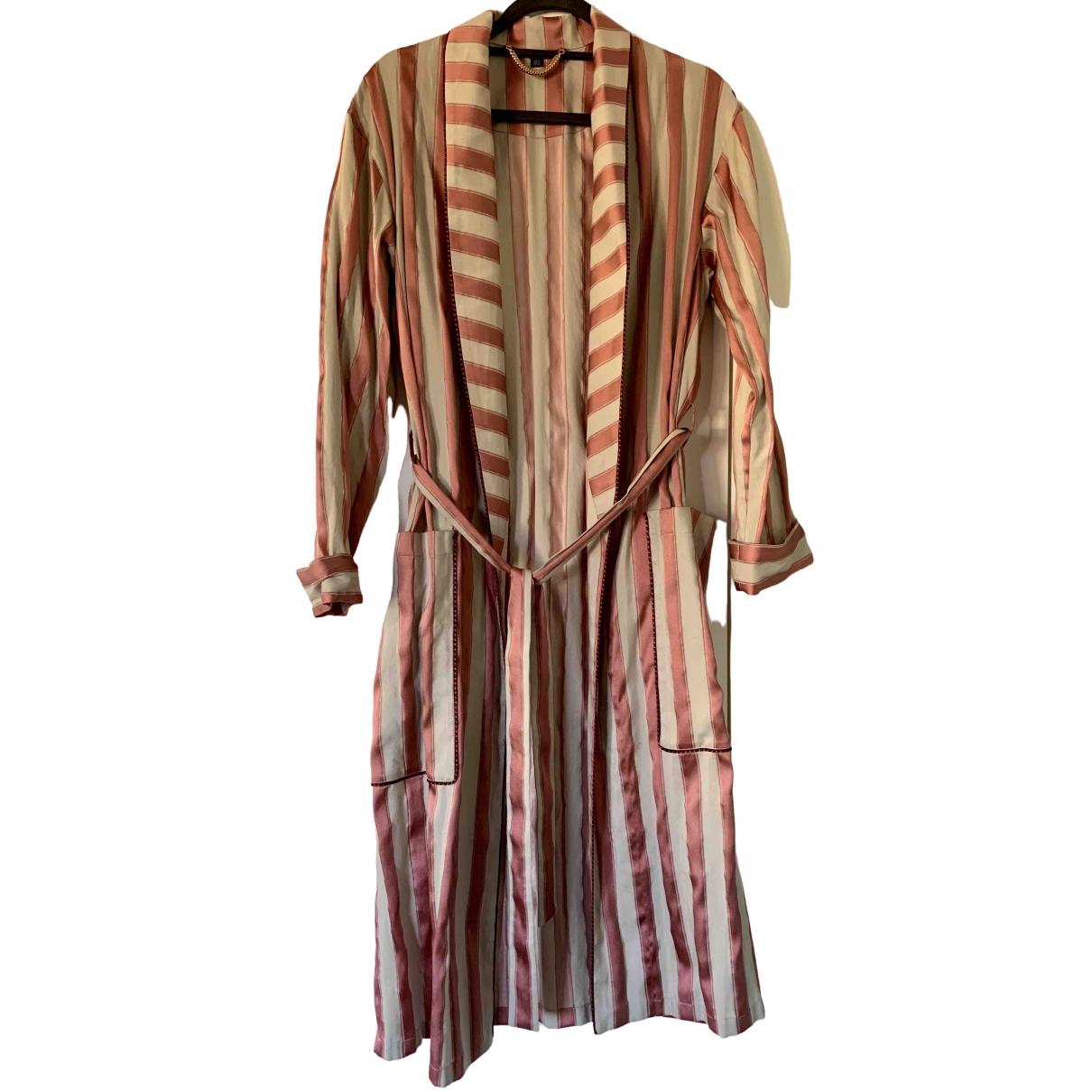 Burberry - Manteau   pour femme en soie