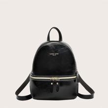 Girls Zip Front Backpack