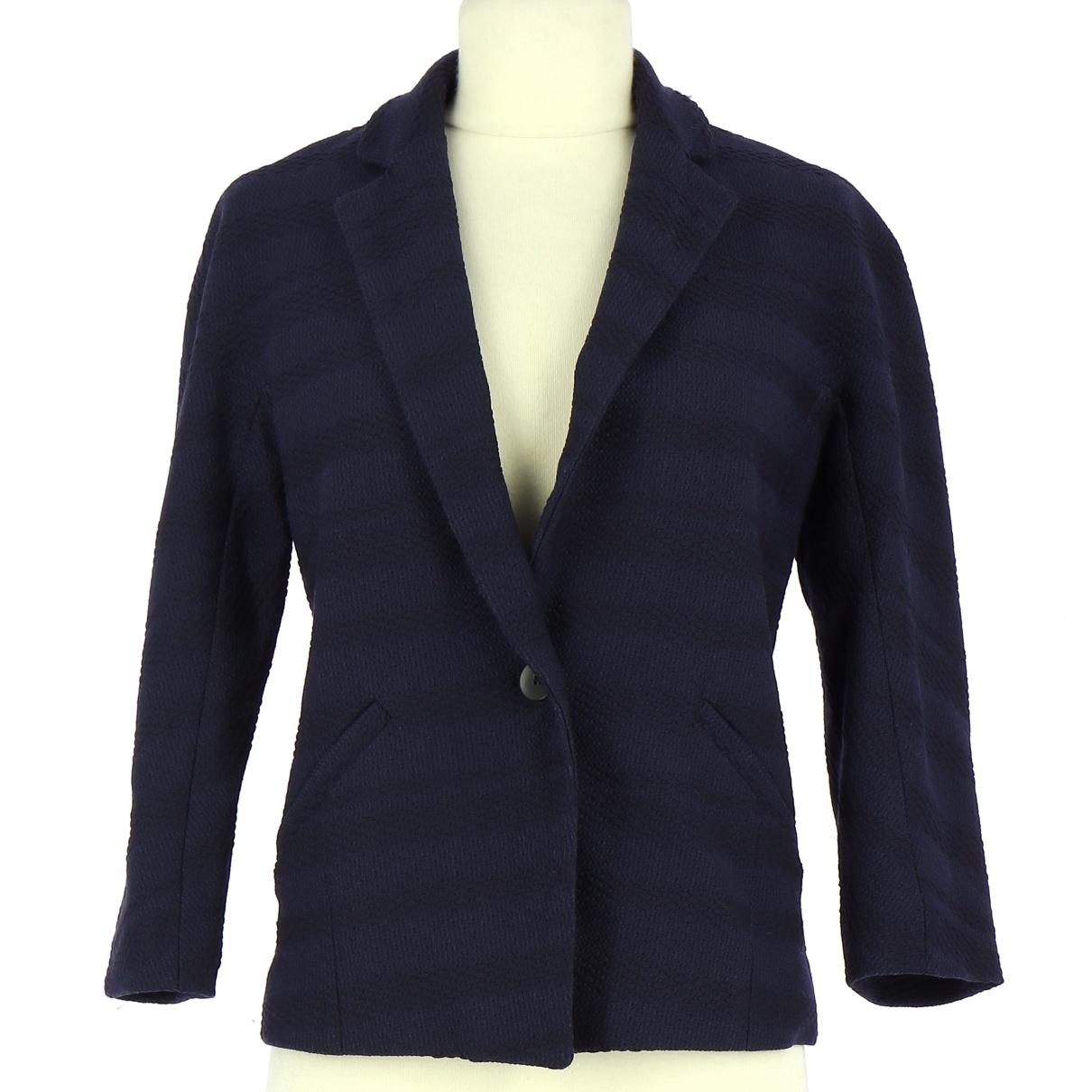 Comptoir Des Cotonniers \N Navy jacket for Women 34 FR