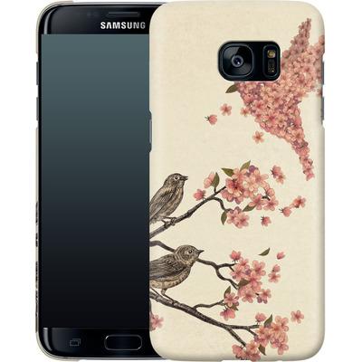 Samsung Galaxy S7 Edge Smartphone Huelle - Blossom Bird von Terry Fan