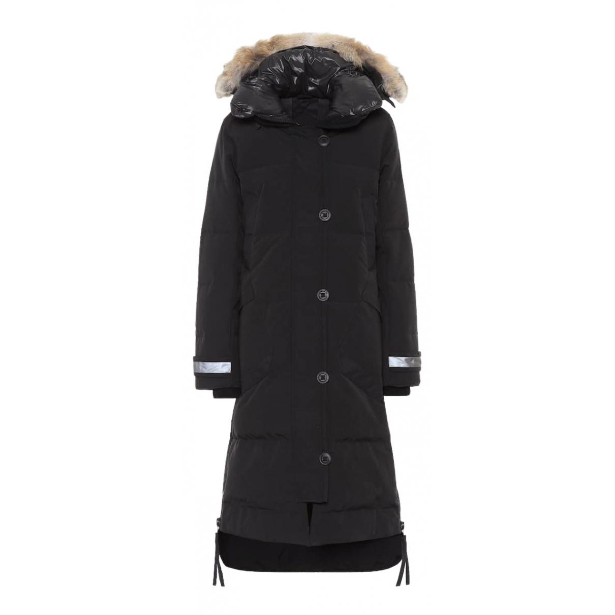 Canada Goose \N Black Cotton jacket for Women S International