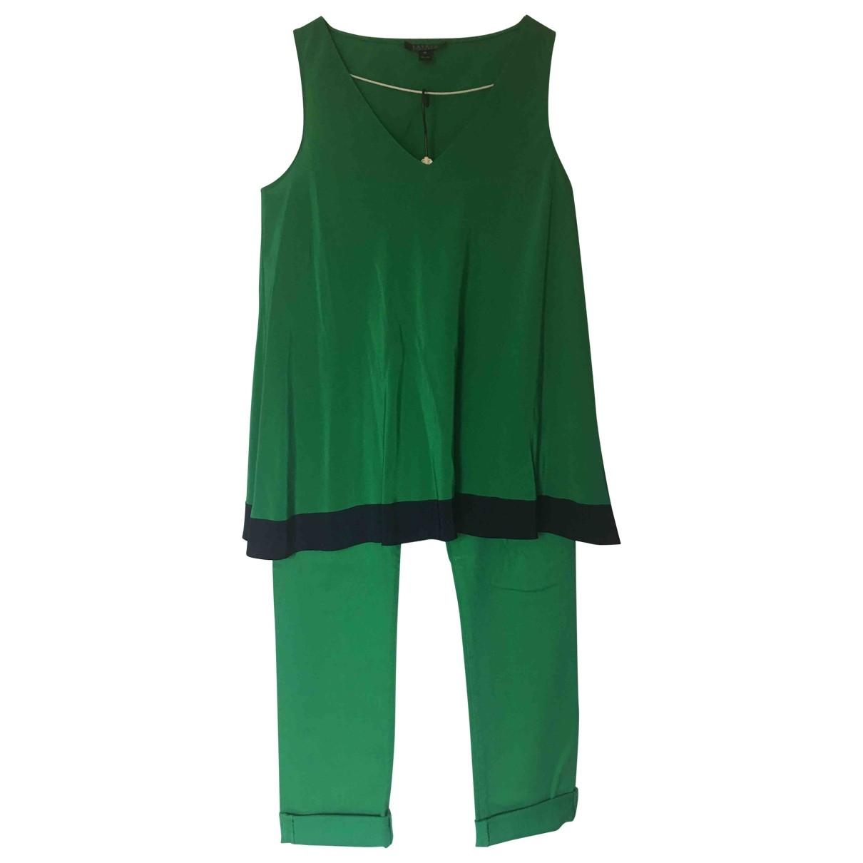 Ralph Lauren Collection - Top   pour femme en soie - vert