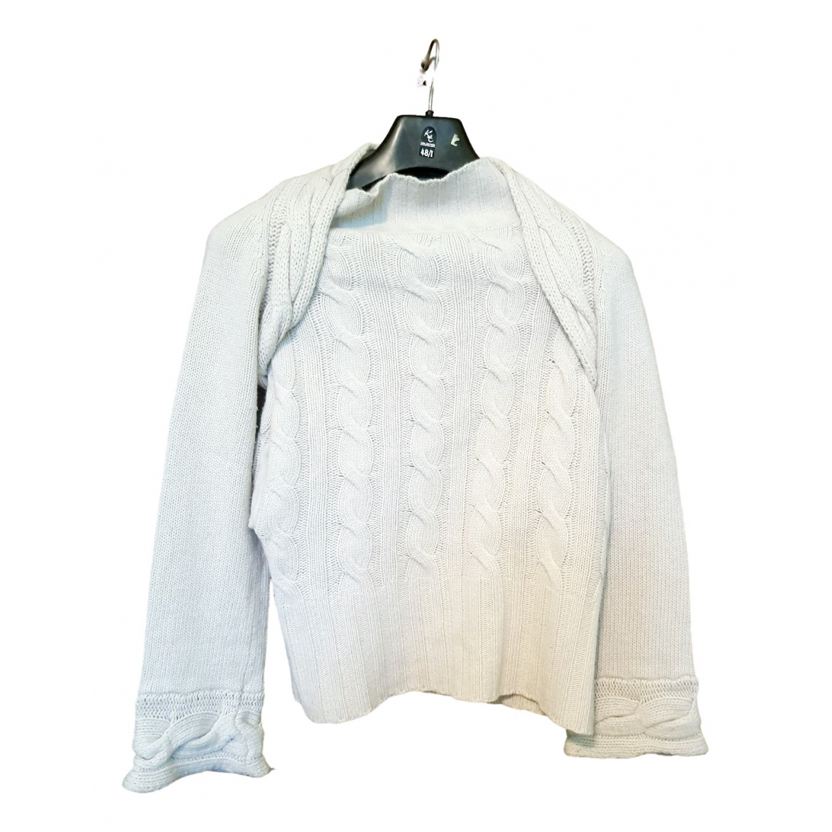 Jucca - Pull   pour femme en laine - beige