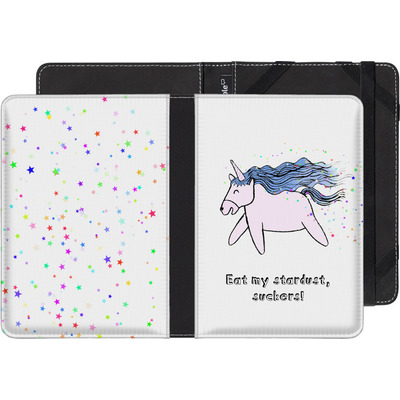Pocketbook Touch Lux eBook Reader Huelle - Eat my stardust von caseable Designs
