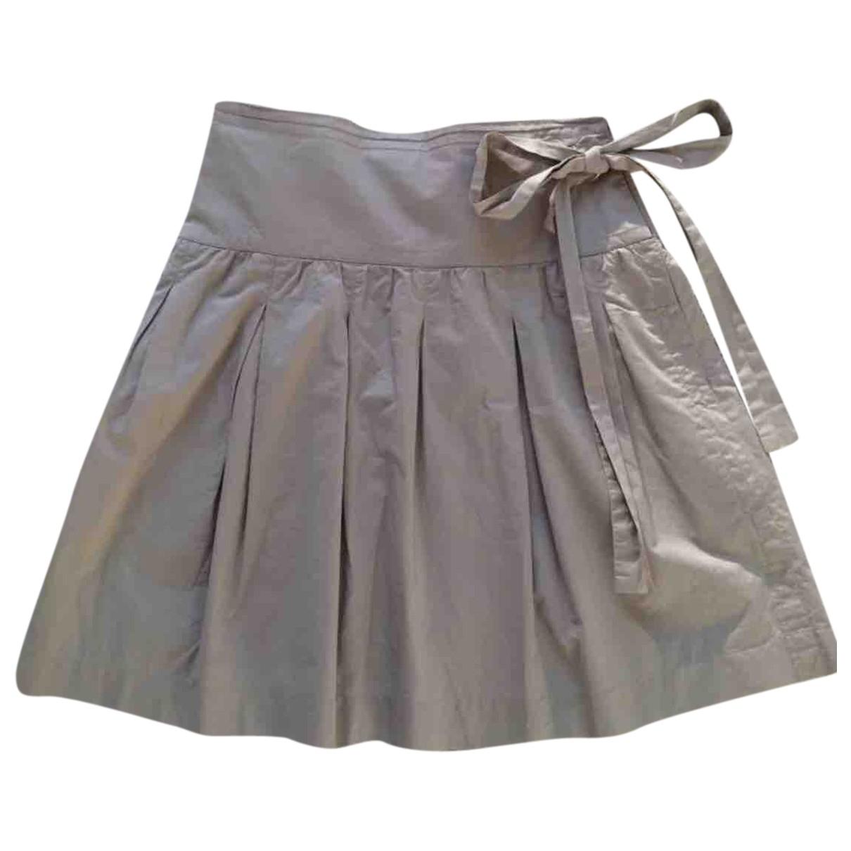 Chloe - Jupe   pour femme en coton - beige