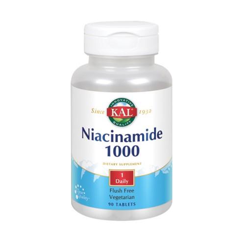 Niacinamide 90 Tabs by Kal