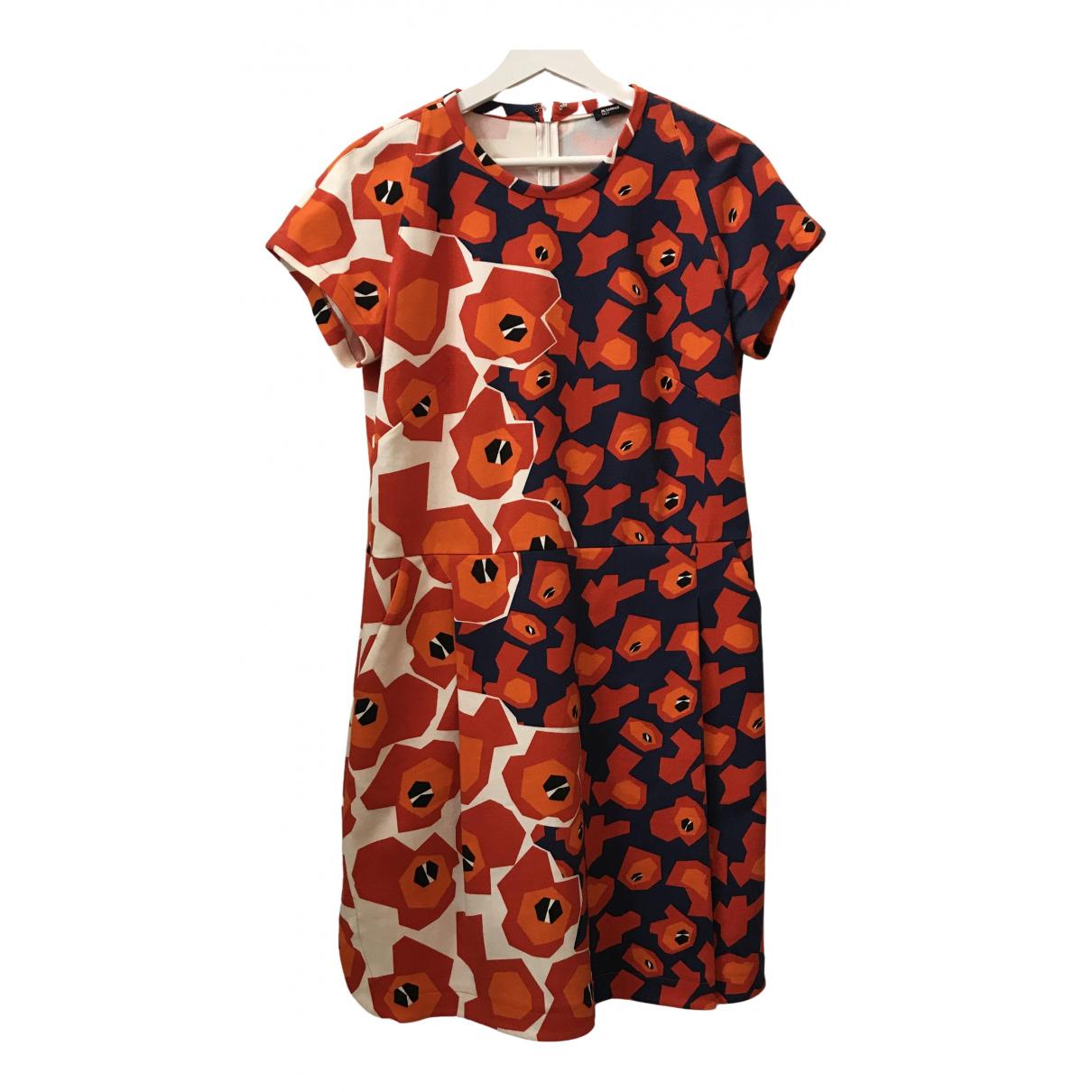 Jil Sander \N Kleid in  Bunt Baumwolle