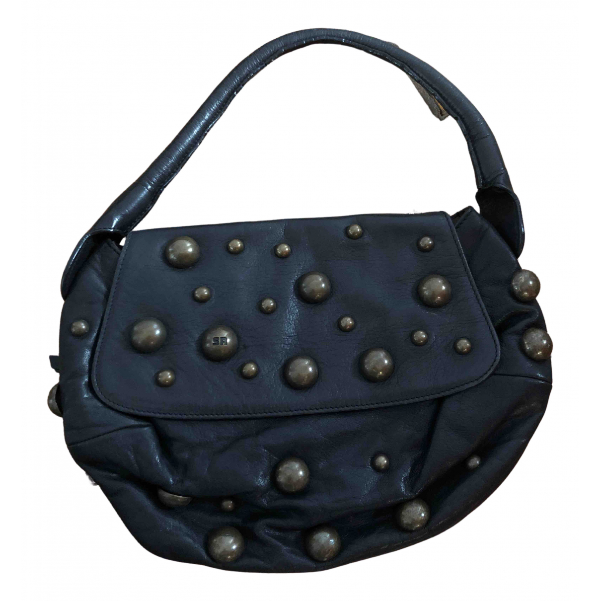 Sonia Rykiel \N Black Leather handbag for Women \N