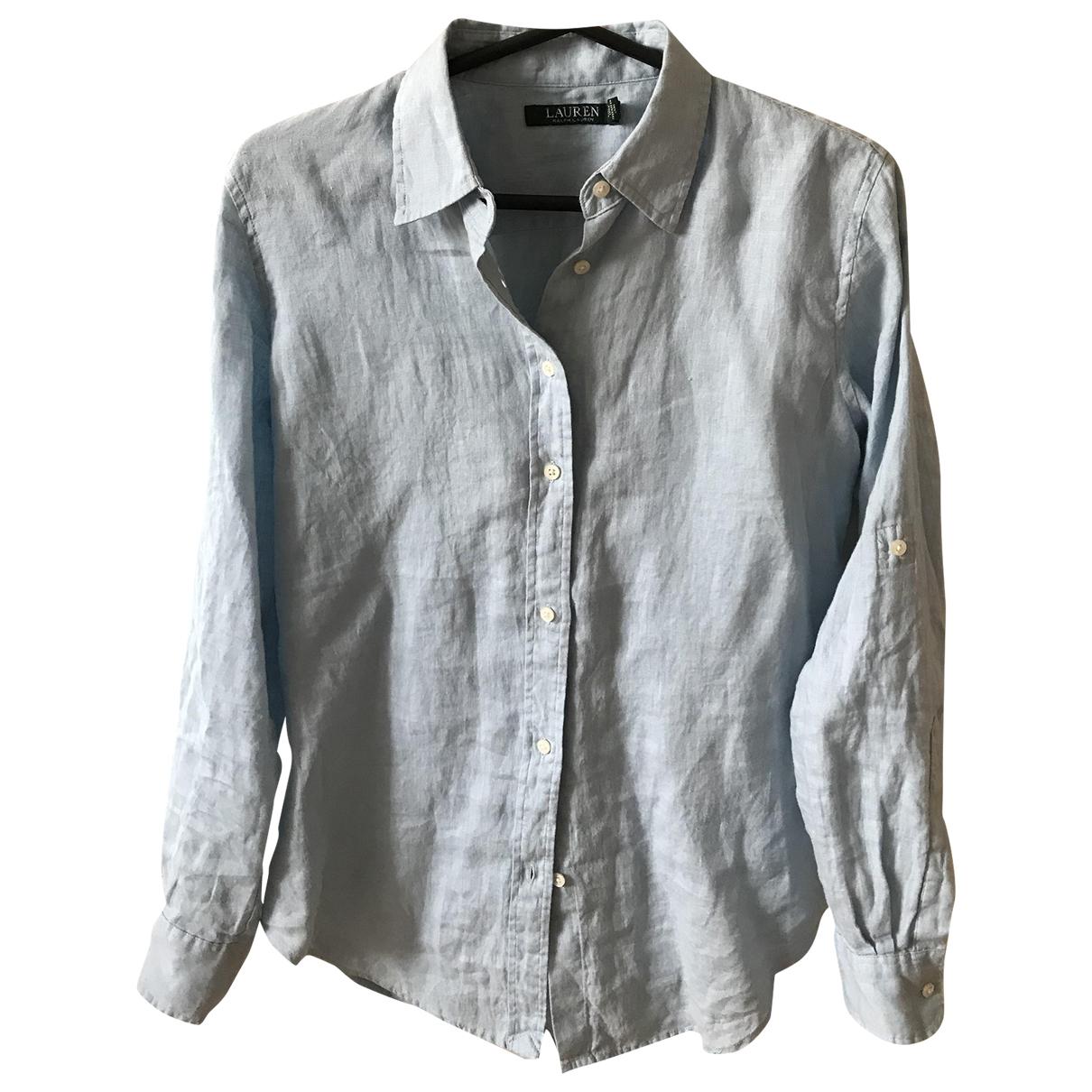 Ralph Lauren \N Blue Linen  top for Women XS International